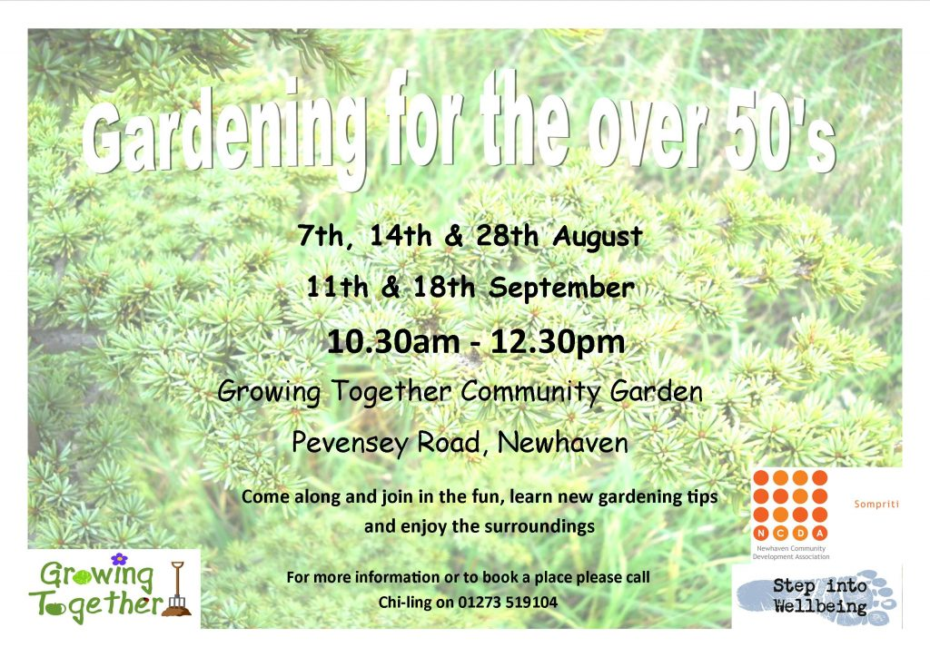gardening over 50s